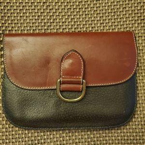 Joan & David vintage leather belt wallet